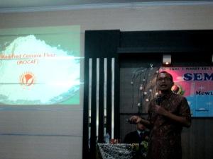 Prof. Achmad Subagio saat seminar regional
